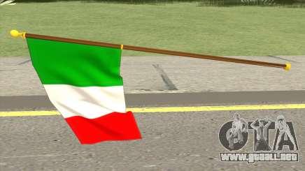 Italian Flag para GTA San Andreas