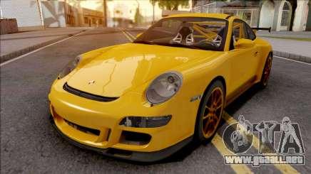 Porsche 911 GT3 RS Yellow para GTA San Andreas