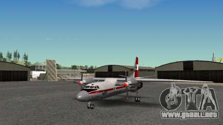 An-24 Aeroflot para GTA San Andreas