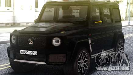 Mercedes-Benz G700 Widestar Brabus Edition para GTA San Andreas