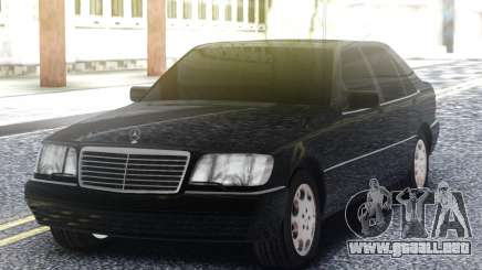 Mercedes-Benz S600 W140 Black para GTA San Andreas