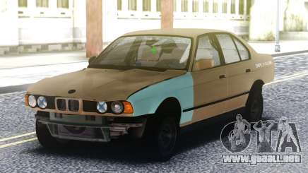BMW 525 Crashed para GTA San Andreas