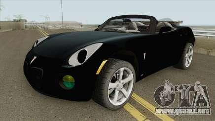 Pontiac Solistice GXP para GTA San Andreas