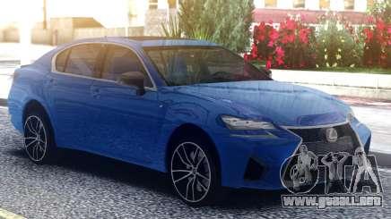 Lexus GS-F 2019 para GTA San Andreas