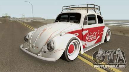 Volkswagen Fusca Coca-Cola Edition para GTA San Andreas
