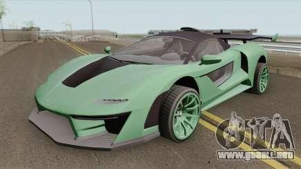 Progen Emerus GTA V (Stock) para GTA San Andreas
