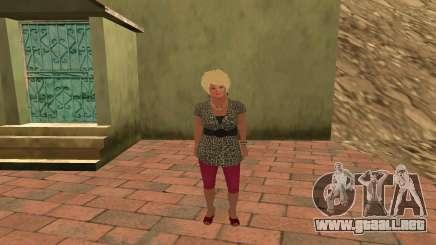 Galina Voronina para GTA San Andreas