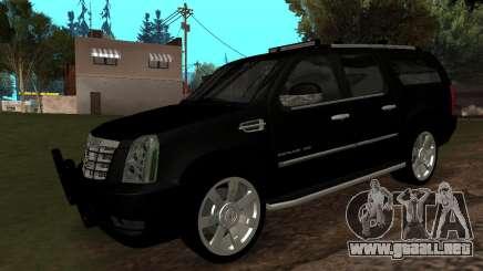 Cadillac Escalade ESV 2008 para GTA San Andreas