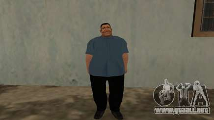 Fatman Rat Man para GTA San Andreas