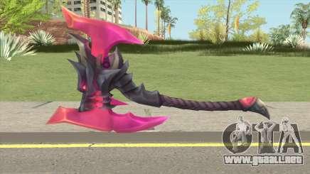 God King Darius Axe para GTA San Andreas