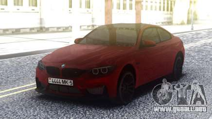 BMW M4 GTS Cherry para GTA San Andreas