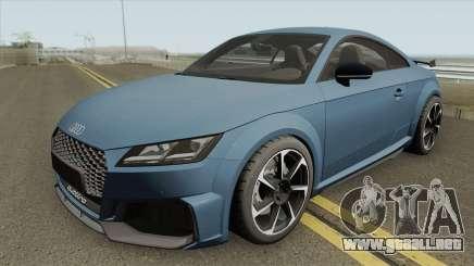 Audi TT RS Coupe 2019 para GTA San Andreas