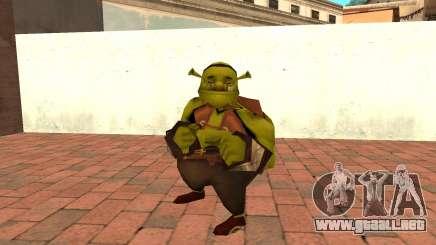 Fat Shrek Funny para GTA San Andreas