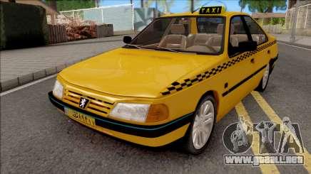Peugeot 405 GLX Taxi v4 para GTA San Andreas