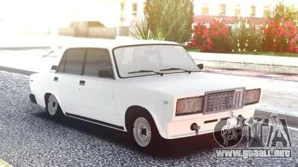 VAZ 2107 Blanco de Baja para GTA San Andreas