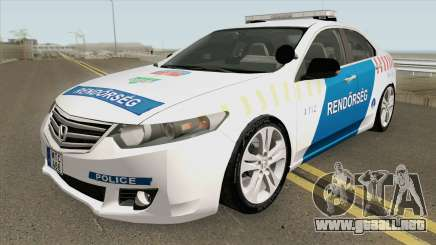 Honda Accord Magyar Rendorseg para GTA San Andreas