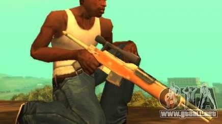 M14 sniper [Sa Style] para GTA San Andreas