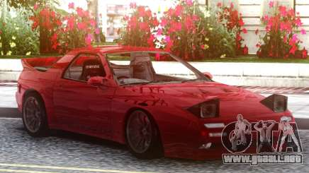Mazda Savanna RX-7 FC3S Red para GTA San Andreas