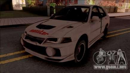 Mitsubishi Lancer Evolution IV RS Empress para GTA San Andreas