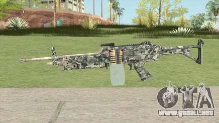 FN Minimi (Pixelated) para GTA San Andreas