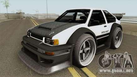 Apex GT85 para GTA San Andreas