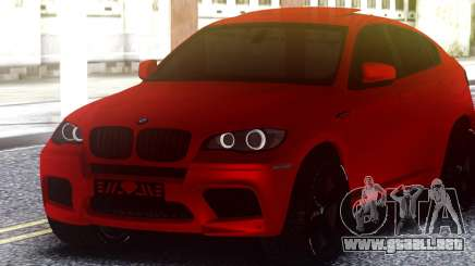 BMW X6 M Sports Activity Coupe para GTA San Andreas