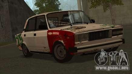 VAZ 2105 25 de Combate para GTA San Andreas