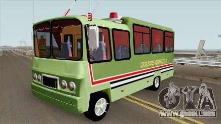 Buseta Clasica (V2) Colombiana para GTA San Andreas