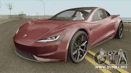 Tesla Motors Roadster 2020 para GTA San Andreas