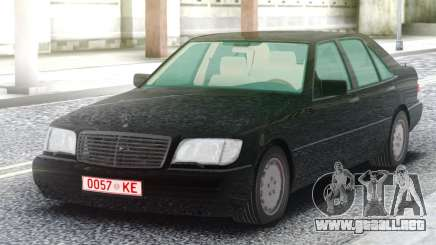 Mercedes-Benz W140 Sedan para GTA San Andreas