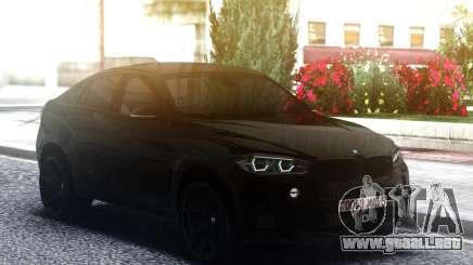 2016 BMW X6M F86 Exhaust SOUND para GTA San Andreas
