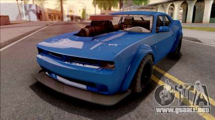 GTA V Bravado Gauntlet Hellfire Custom IVF para GTA San Andreas