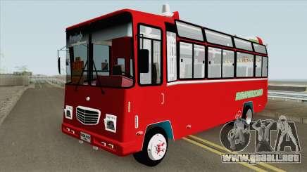 Buseta NPR Superior Colombiana para GTA San Andreas