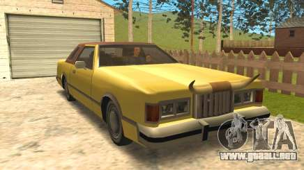 New Virgo Bull para GTA San Andreas