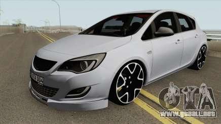 Opel Astra J HQ para GTA San Andreas
