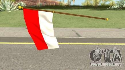 Indonesia Flag para GTA San Andreas