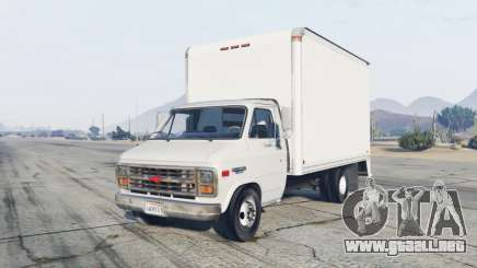 Chevrolet G30 Box Truck para GTA 5