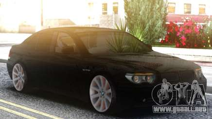 BMW 750i Black para GTA San Andreas