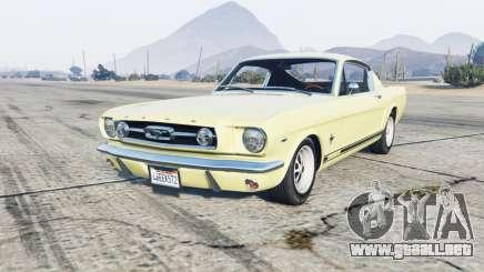 Ford Mustang Fastback para GTA 5