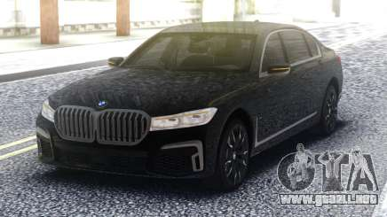 2020 BMW 7 series 740i para GTA San Andreas