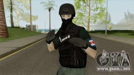 U.E.A Official Costa Rica Police Skin para GTA San Andreas