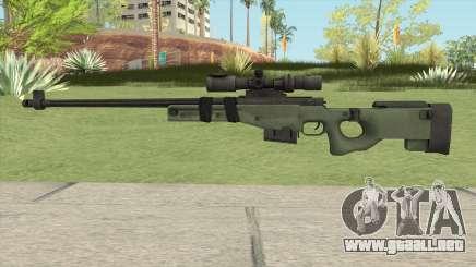 Battlefield 3 L96 Sniper para GTA San Andreas