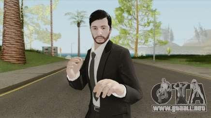 GTA Online Skin The Workaholic V2 para GTA San Andreas