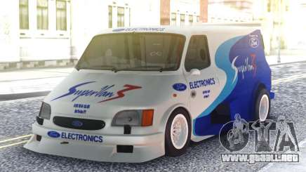 Ford Transit Supervan 3 Custom cars para GTA San Andreas