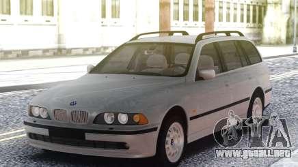 BMW E39 Touring Wagon M57D30 para GTA San Andreas