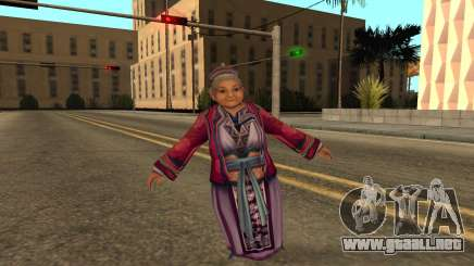 Flying Grandmother With Degenerative Disc Diseas para GTA San Andreas