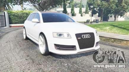 Audi RS 6 Avant (C6) 2008 para GTA 5