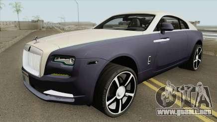 Rolls Royce Wraith 2018 IVF para GTA San Andreas