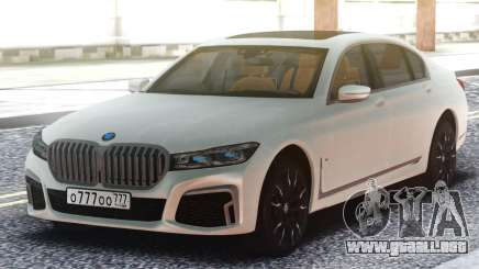 2020 BMW 7 Series M760Li  XDrive Long FULL REVI para GTA San Andreas
