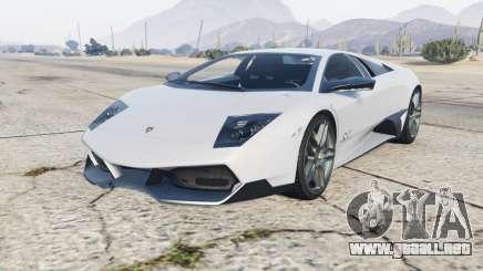Lamborghini Murcielago LP670-4 SV 2010 para GTA 5